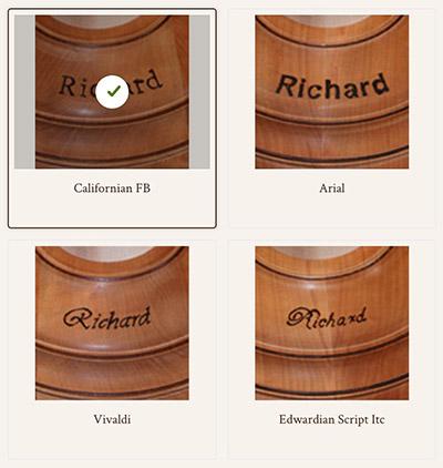 Individuelle Holzeisstöcke online kaufen