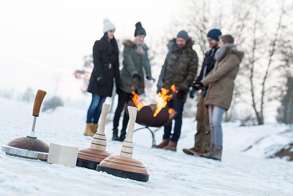 Premium-Holzeisstöcke aus Birnenholz